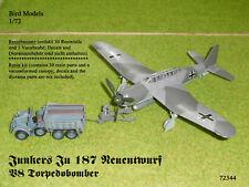 "Junkers Ju 187 Neuentwurf V8 ""Torpedo""  1/72 Bird Models Resinbausatz/resin kit"