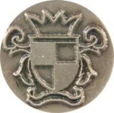 "Crest / Coat of Arms Wax Seal Stamp (7/8"" metal seal, resin handle) irregular"