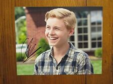 "CALLAN  McAULIFFE (""The  Great  Gatsby""/""Flipped"") Signed  8 X 10 Color    Photo"
