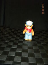 Lucy & Me - Enesco - Boy With Overalls, Cap, & Bandana - 1984