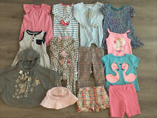 Toddler Girl Clothing Lot, 13 Items, 24 Months, Carter's, Healthtex, H&M