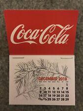 NEW 2019 cocacola  dash calendar