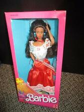 Mattel Collector Barbie Doll Sealed Box Mexican Barbie 1988 1917