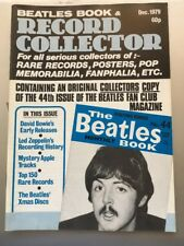 THE BEATLES BOOK MONTHLY Appreciation Magazine 44 Record Collector 4 Dec 1979