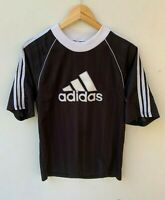 ADIDAS vintage retro 3D logo sports shirt size approx S - M made in England