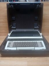 Smith Corona Ultrasonic Model 1e Electric Typewriter With Case Preowned Free Ship
