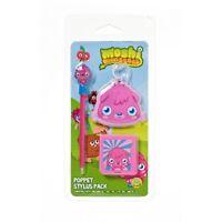 Moshi Monsters Poppet Stylus Pen Pack Nintendo DS DSI Lite 3DS XL 3 Pack