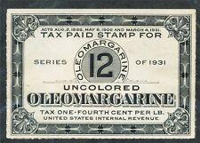 Margarine ser. 1931 - 12.160103