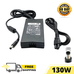 130W Dell Original Power Charger Adapter for Laptop G3 15 3579 3590 with cord