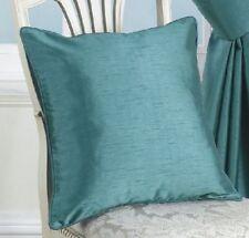 Funda de cojín Color principal Verde de poliéster para el hogar