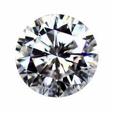 Loose Moissanite Gemstones Round Brilliant Cut, Hearts & Arrows, VVS1