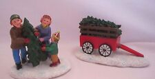 St. Nicholas Square Collection Accessories Family Chopping Down the Tree New