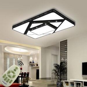 48W-90W LED Dimmbar Deckenleuchte Flurleuchte Wohnzimmer Küchen Badleuchte Lampe