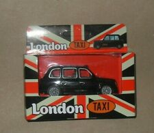 LONDON TAXI BLACK CAB TOY CAR TAXI DRIVER GIFT NEW BOXED