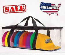 Baseball Cap Storage Hat Holder Bag Zipper Shut Travel Organizer Rack Case