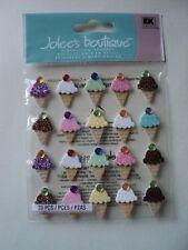 Ek Success Jolee's Ice Cream répétitions Dimensional Stickers Entièrement neuf sous emballage