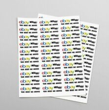 eBay Branded 60 COUNT Seller Package Shipping Stickers Postal Label 1