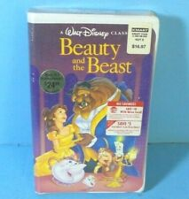Vintage SEALED Beauty and the Beast VHS Black Diamond Edition 1992 BRAND NEW