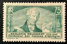 France Sc#301, 1935 Benjamin Delessert   MLH OG  VF (10-99)