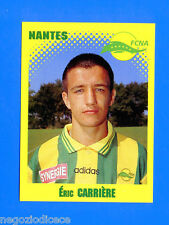 FOOT 98 FRANCE 1997-98 Figurina Sticker n. 262 - CARRIERE - NANTES -New
