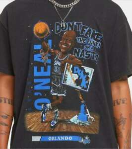 Vintage N.B.A Shaquille O'Neal Basketball Player T Shirt Vintage Men Gift Tee
