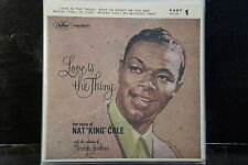 "Nat King Cole - Love Is The Thing - Part 1  (7""EP)"