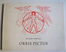 Orbis Pictus, Richard Seewald,  Original-Graphik, Graphik, Seewald signiert,