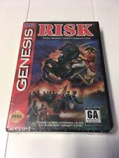 Risk (Sega Genesis, 1994) Brand New Factory Sealed 7781