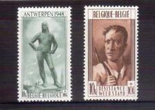 BELGIUM 1948 Antwerp & Resistance MH