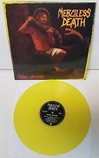 Merciless Death Taken Beyond Yellow Vinyl LP Record new