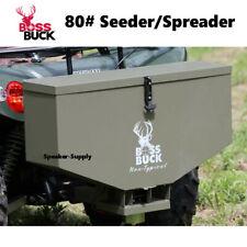 Boss Buck 80lb ATV Tailgate Feeder Seeder Spreader Food Plot BB-180