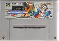 ROCKMAN X3 X 3 MEGAMAN CAPCOM NINTENDO SUPER FAMICOM SNES SFC JAPAN