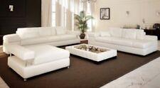 Sofagarnituren aus Leder mit Dreisitzer-Sofa-förmige L