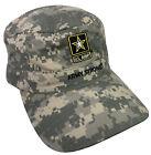U.S. ARMY Strong Goarmy.com Digital Camo ADJUSTABLE Adult Hat Cap