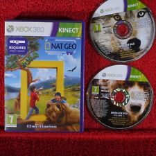 NAT GEO AMERICA THE WILD - Microsoft Xbox 360 ~PAL~7+ Requires Kinect sensor!