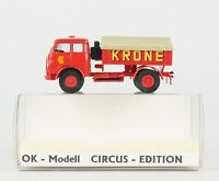 OK-MODELL Circus-Edition Spur H0: MAN Zugmaschine, CIRCUS KRONE, OVP, top!
