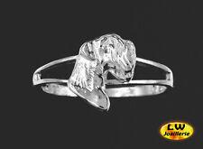 Bague Chien SCHNAUZER - Ring SCHNAUZER DOG  -  Argent Massif 925/1000