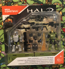 Mega Construx HALO UNSC MARINES CUSTOMIZER PACK FDY41 New Sealed