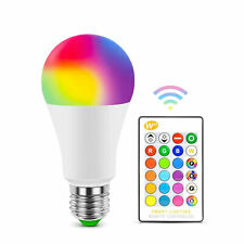 RGB LED Bulb with IR Remote LED Lamp With Multy Colors for home Decorations xmas