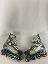 New listing Mission Bsx Grey Size 10 In Line Roller Blades Hockey Skates