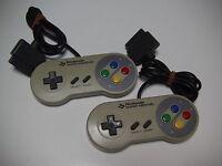 Super Famicom Nintendo Controllers SFC Official Original SHVC-005 SET OF 2 as is