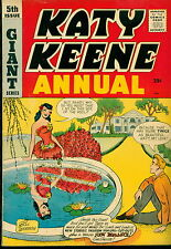 Archie Comic, Katy Keene Annual #5 Giant!  Fashion submitted by fans