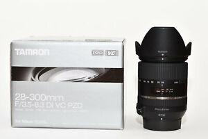 Tamron 28-300mm F/3.5–6.3 Di VC PZD - Nikon Mount