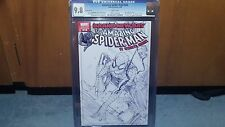 Marvel Amazing Spider-Man #546 Sketch Variant cgc 9.8 rare Brand New Day