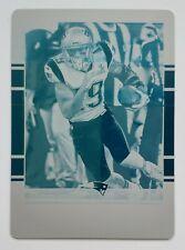 2018 Panini Plates & Patches Malcolm Mitchell ONE-OF-ONE Printing Plate