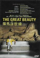 The Great Beauty AKA La Grande Bellezza DVD Toni Servillo NEW R3 Eng Sub