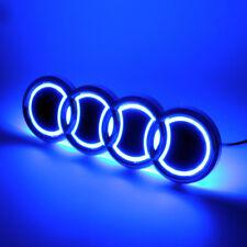 Illuminated 5D LED Car Tail Logo Lights For Audi Q5 A1 Badge Emblem Lights Blue