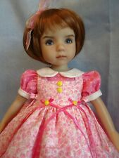 """Pretty in Pink Outfit for Dianna Effner's 13"""" Little Darling Doll"""