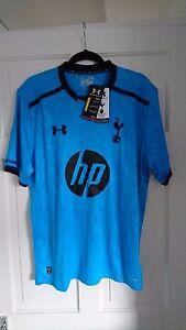 TOTTENHAM HOTSPUR SPURS OFFICIAL Away 2013/2014 Shirt Jersey XL - New With Tags!