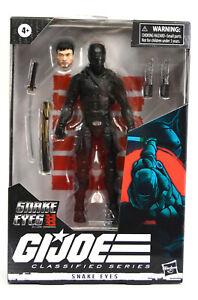 """Gi Joe Snake Eyes Movie 6"""" Classified Series Snake Eyes Figure #16"""